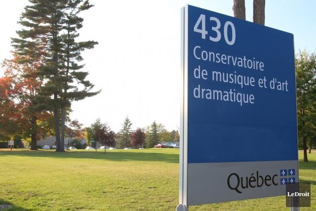 Le Conservatoire de musique de Gatineau.... (Photo: Patrick Woodbury, Le Droit)