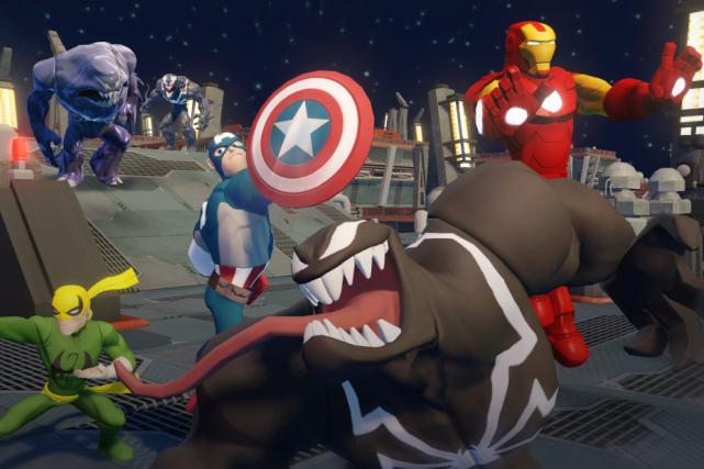 Les figurines de Disney Infinity sont de retour pour une deuxième... (Illustration fournie par Disney)