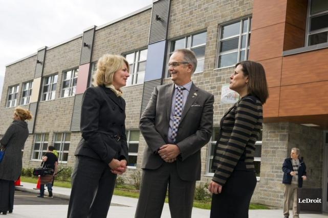 La directrice de l'école primaire de l'Orée-des-Bois, Sylvie... (Martin Roy, LeDroit)