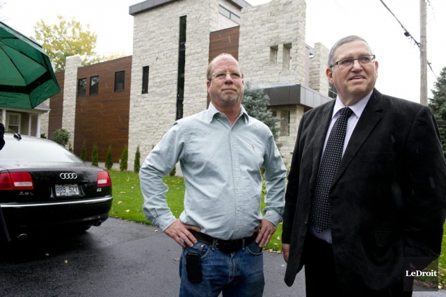 Les résidents du chemin Fraser, dans le secteur... (Martin Roy, LeDroit)