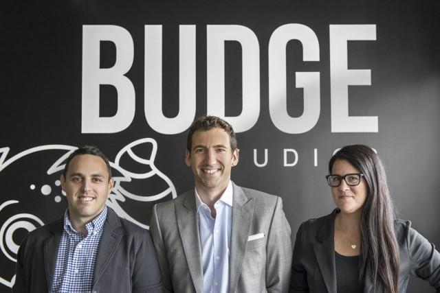 Michael Elman, David Lipes et Noémie Dupuy, cofondateurs... (PHOTO FOURNIE PAR BUDGE STUDIOS)
