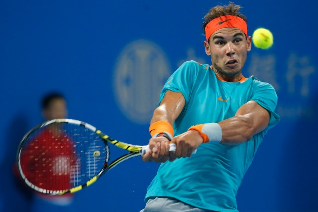 Rafael Nadal... (Photo Vincent Thian, AP)