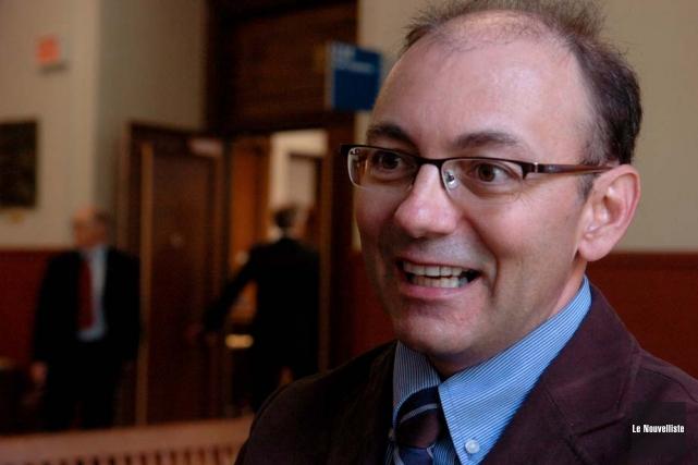 Le porte-parole de la Coalition, Yvon Boivin, était... (Photo: Archives Le Nouvelliste)