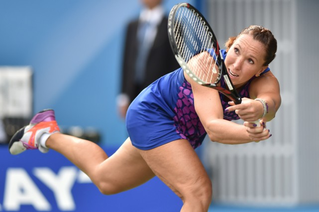 Jelena Jankovic... (Photo Kazuhiro Nogi, archives AFP)