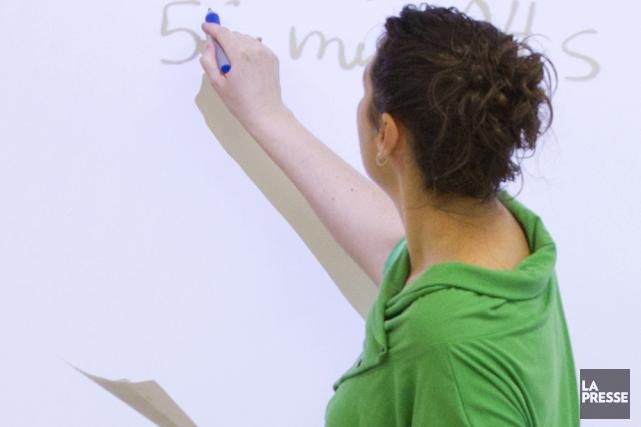 En éducation, l'État doit jouer un rôle fort.... (Photo: La Presse)