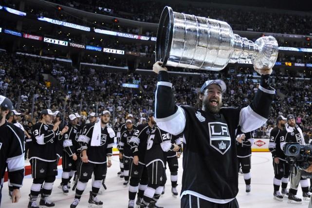 Quelques mois après avoir remporté la coupe Stanley,... (Photo archives USA Today)