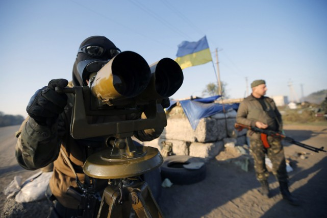 Selon le ministère ukrainien des Affaires étrangères, le... (PHOTO DAVID MDZINARISHVILI, REUTERS)