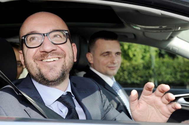 Charles Michel sera le prochain premier ministre de... (PHOTO LAURENT DUBRULE, ARCHIVES REUTERS)
