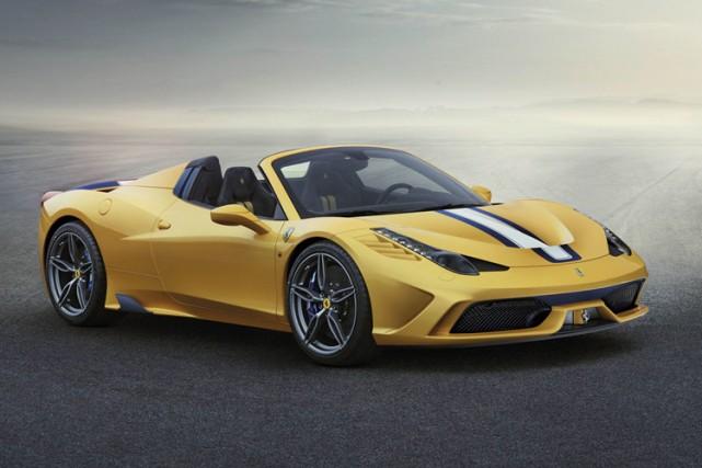 La 450 Speciale A sera construite à 499... (Photo fournie par Ferrari)