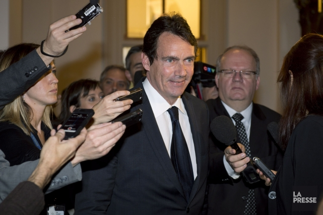 Le député du PQ Pierre Karl Péladeau... (Photo Jacques Boissinot, La Presse Canadienne)