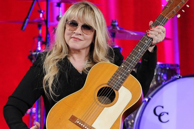 Stevie Nicks... (Photo: archives AP)