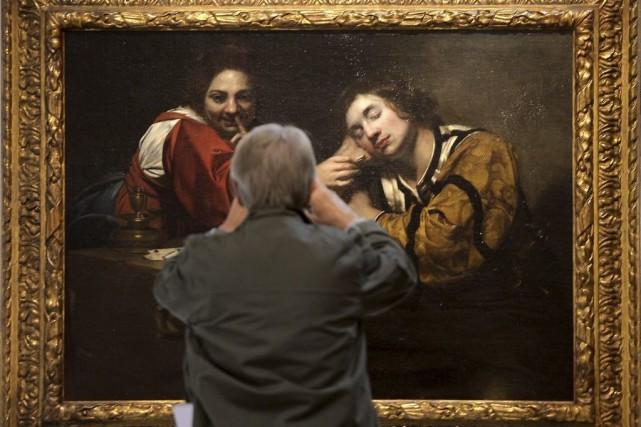 Une oeuvre de l'exposition Bas-fonds du baroque -... (Photo: AFP)