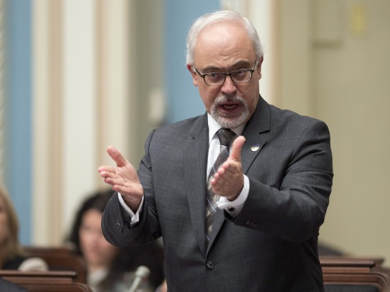 Le ministre des Finances du Québec, Carlos Leitao,... (Photo Jacques Boissinot, La Presse Canadienne)