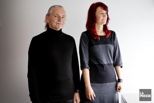 Krzysztof Wodiczko et Isabelle Hayeur présenteront tous deux... (Photo: Marco Campanozzi, La Presse)
