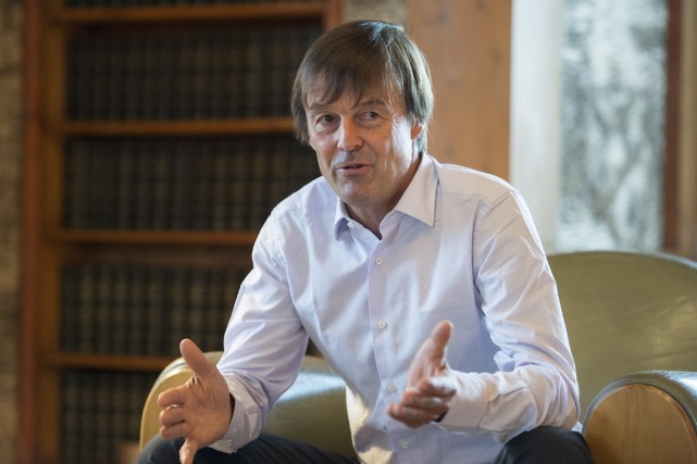 Nicolas Hulot, qui est de passage à Ottawa... (Photo Justin Tang, PC)