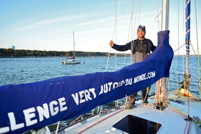 Le navigateur Sylvain Fortier vient de rentrer à... (Collaboration spéciale Jean-Sébastien Massicotte)