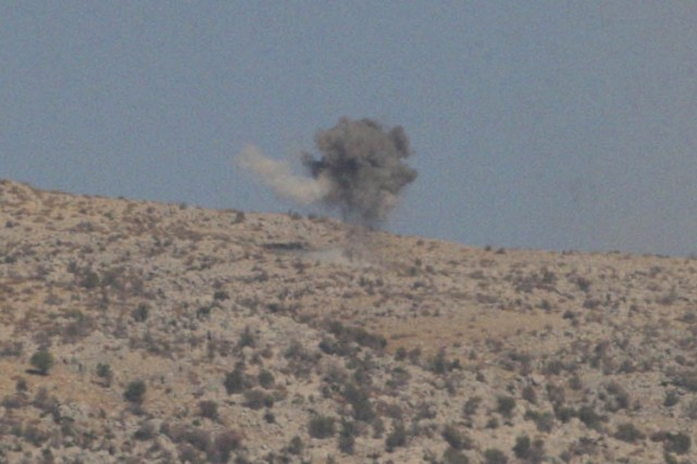 Le Hezbollah aurait fait exploser un engin contre... (Photo: Reuters)