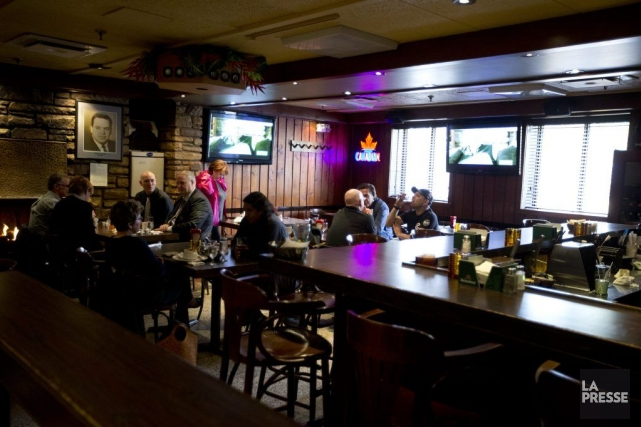 L'achalandage de la TaverneMagnandiminue depuis 10 ans. Le... (PHOTO FRANCOIS ROY, LA PRESSE)
