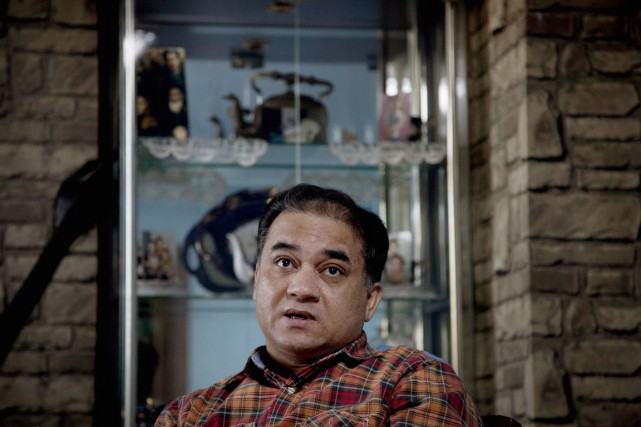 Ilham Tohti... (PHOTO ANDY WONG, ARCHIVES AP)