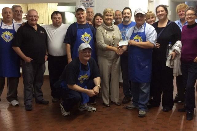 Le déjeuner communautaire organisé le 21 septembre dernier par les Chevaliers... (Courtoisie)