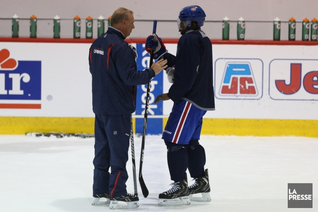 Michel Therrien a confirmé hier que P.K. Subban... (Photo Martin Chamberland, La Presse)