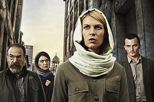 Showtime produit des séries comme Homeland.... (PHOTO FOURNIE PAR TÉLÉ-QUÉBEC)