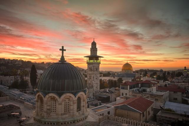 Les prises de vue du film Jerusalem sont... (Photo: fournie par National Geographic)