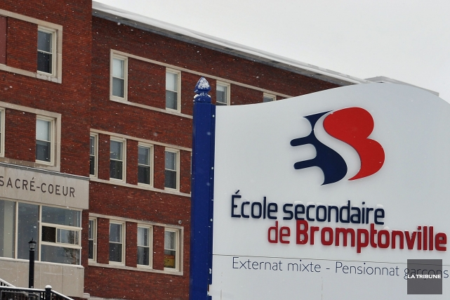 L'École secondaire de Bromptonville (ESB) tournera aujourd'hui une importante... (Archives La Tribune)