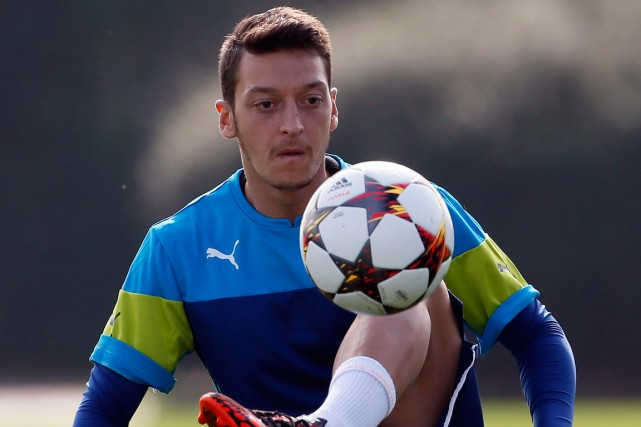 Mesut Özil... (Photo Stefan Wermuth, Reuters)
