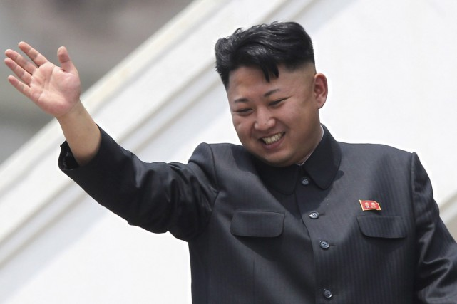 Kim Jong-un... (PHOTO WONG MAYE-E, ARCHIVESAP)