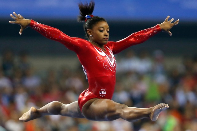 La gymnaste américaine Simone Biles.... (Photo Reuters)