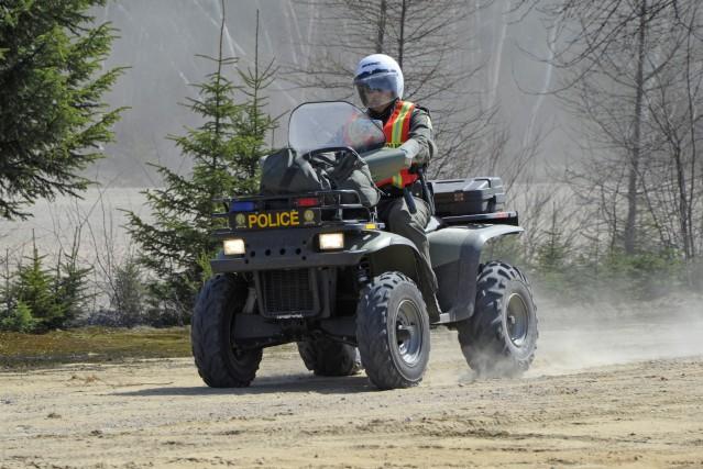 Deux chasseurs originaires de Québec ont été retrouvés après avoir passé la... (Archives)