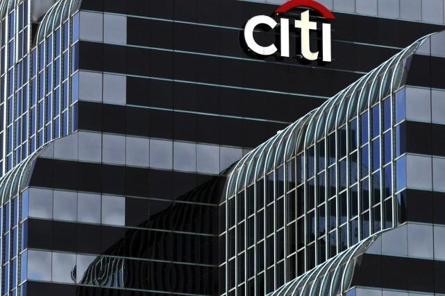 La troisième banque américaine en termes d'actifs, Citigroup,... (Photo Kiichiro Sato, Archives AP)