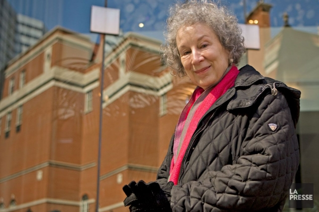 Le nom de Margaret Atwood (notre photo) se... (Photo: David Boily, archives La Presse)