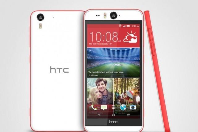 Le HTC Desire Eye... (Photo HTC)
