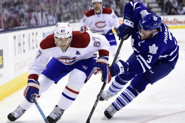 Relisez le clavardage du premier match de la saison 2014-2015 du Canadien,... (Photo: PC)