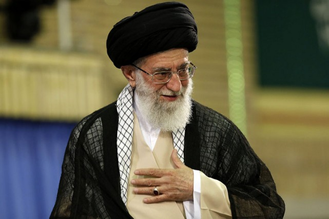 L'ayatollah Ali Khamenei.... (Photo: AFP)