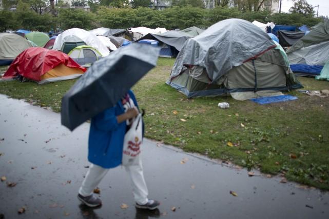 L'injonction de la cour permet aux travailleurs de... (Photo JONATHAN HAYWARD, PC)