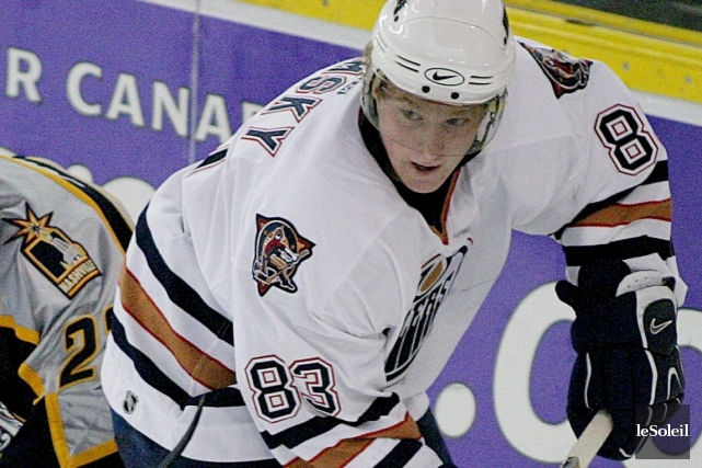 Lors de la saison 2002-2003, les Oilers d'Edmonton... (Photothèque Le Soleil)
