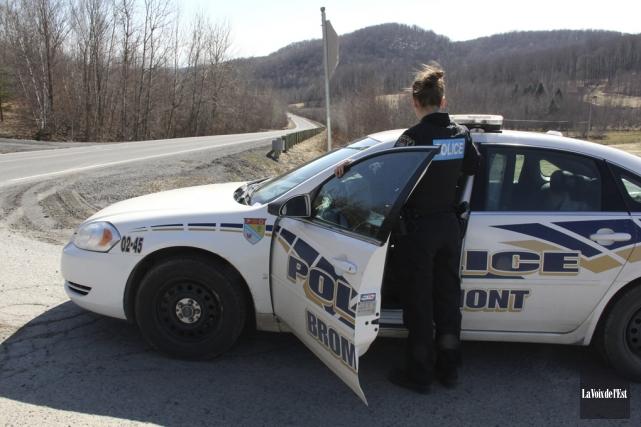 À Bromont, la caisse de retraite des policiers... (photo archives La Voix de l'Est)