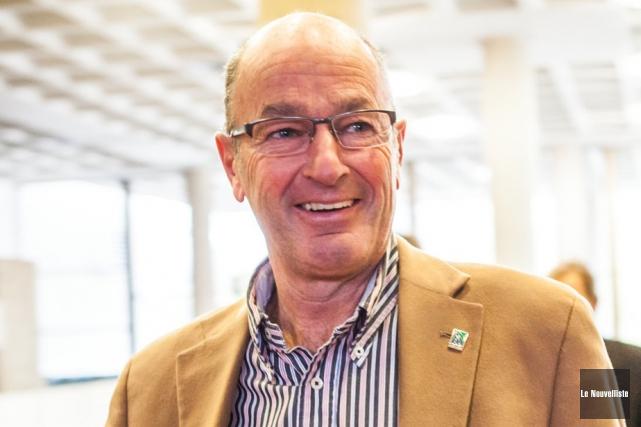 Yves Lévesque, maire de Trois-Rivières.... (Photo: Olivier Croteau, Le Nouvelliste)