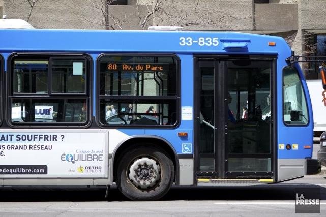 L'Alliance pour le financement des transports collectifs au Québec, Transit,... (PHOTO SARAH MONGEAU-BIRKETT, LA PRESSE)