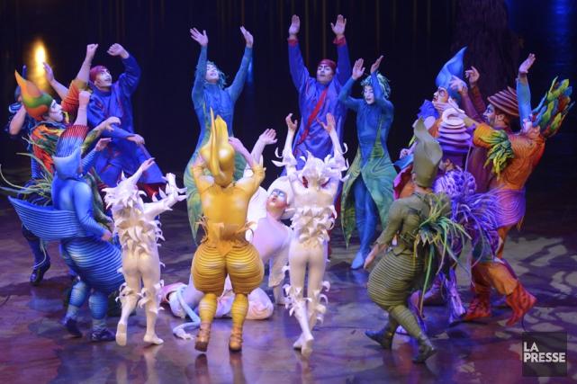 Le Cirque du Soleil devrait présenter trois nouveaux... (Photo: La Presse)