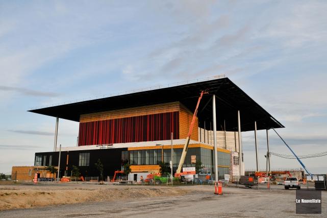 À Trois-Rivières, le nouvel Amphithéâtre Cogeco sera inauguré... (Photo Le Nouvelliste)