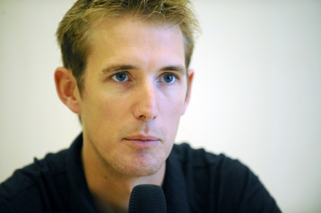 Andy Schleck... (Photo Jean-Christophe Verhaegen, AFP)