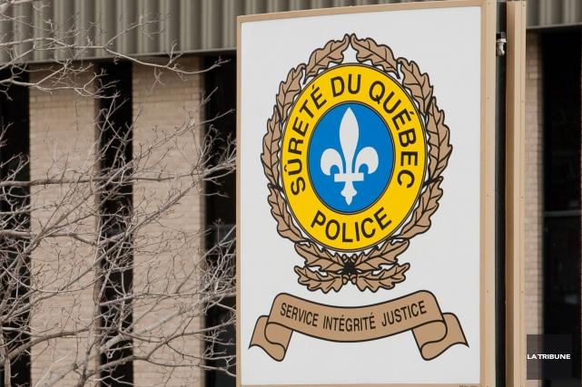 Le projet de construction d'un poste de la Sûreté du Québec dans la MRC de... (Archives La Tribune)