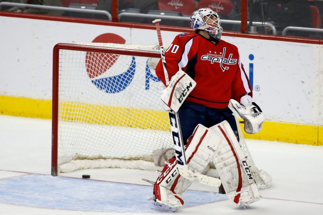 Braden Holtby sera le nouveau défi de Mitch... (Photo Alex Brandon, archives AP)