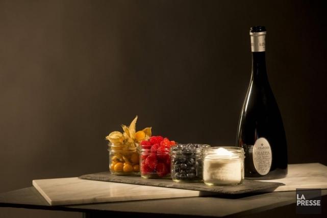 Les petits fruits ou les fruits d'automne se... (Photo Ivanoh Demers, La Presse)