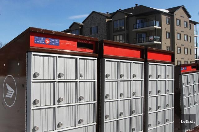 Le passage vers les boîtes postales communautaires traversera... (Etienne Ranger, Archives LeDroit)