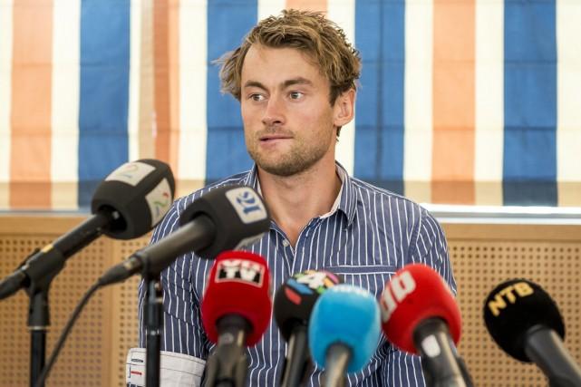 Le fondeur norvégien Petter Northug a provoqué un... (Photo AFP)
